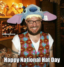 Happy National Hat Day