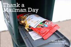 Thank a Mailman Day