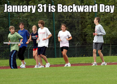 January 31 is Backward Day