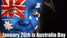 January 26th is Australia Day