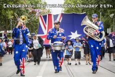 Celebrating Australia Day January 26th
