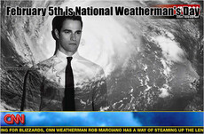 February 5th is National Weatherman's Day