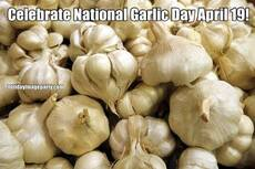 Celebrate National Garlic Day April 19!