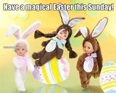 Have a magical Easter this Sunday!