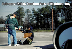 February 16th is Random Acts of Kindness Day