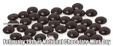 February 19th is National Chocolate Mint Day