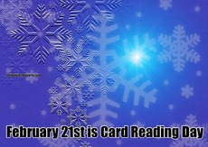 February 21st is Card Reading Day