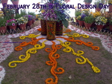 February 28th is Floral Design Day