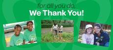for all you do, we thank you girl scout leaders!