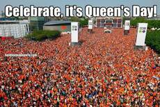 Celebrate, it's Queen's Day!