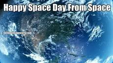 Happy Space Day From Space