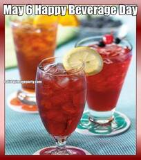 May 6 Happy Beverage Day
