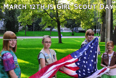 March 12th is Girl Scout Day