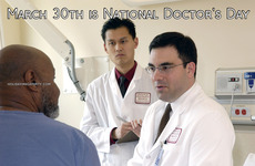 March 30th is National Doctor's Day