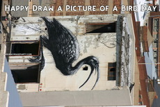Happy Draw a Picture of a Bird Day