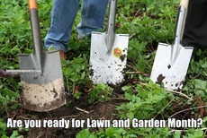 Are you ready for Lawn and Garden Month?