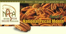 April is National Pecan Month