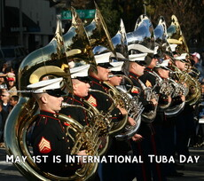 May 1st is International Tuba Day