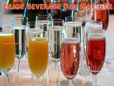Enjoy Beverage Day May 6th