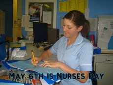 May 6th is Nurses Day
