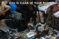 May 10 th is Clean up Your Room Day