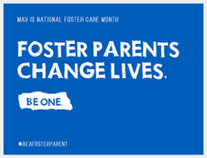 May is National National Foster Care Month
