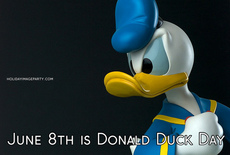 June 8th is Donald Duck Day