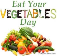 Eat your vegetables day