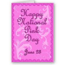 Happy National Pink Day June 23