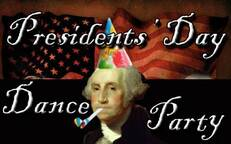 Presidents' Day Dance Party