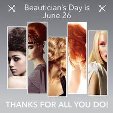 Beautician's Day is June 26