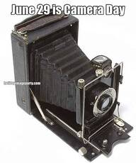 June 29 is Camera Day