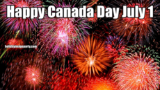 Happy Canada Day July 1
