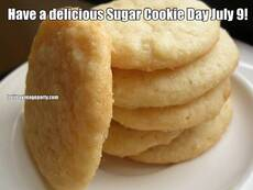 Have a delicious Sugar Cookie Day July 9!