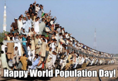 Happy World Population Day!