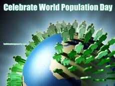 Celebrate World Population Day