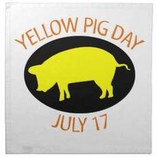 Yellow Pig Day July 17