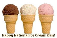 Happy National National Ice Cream Day
