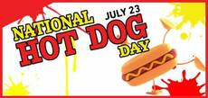 National Hot Dog Day July 23