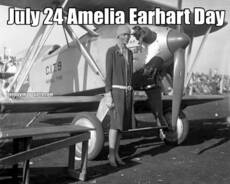 July 24 Amelia Earhart Day