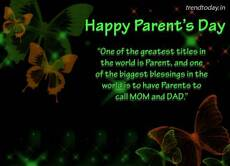 Happy Parent's Day