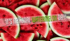It's National Watermelon Day