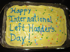 Happy International Left Hander's Day