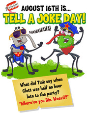 August 16th is Tell A Joke Day