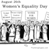 Search women's equality day