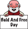 Search bald and free day